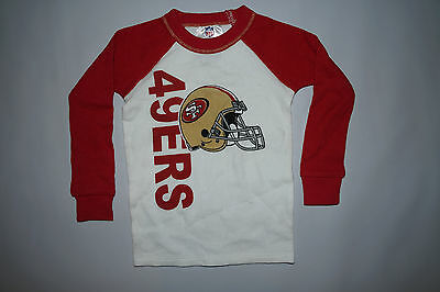 9b85a8e3c San Francisco 49ers KIDS Pajama Shirt ALL SIZES Football NFL Thermal Shirt  NEW @
