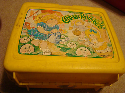 Cabbage Patch Kids used Plastic Lunchbox
