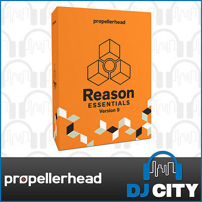 Propellerhead Reason Essentials 9 Music Production Software (boxed)- DJ City