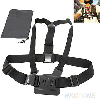 Attractive Hot Adjustable Elastic Chest Strap Mount Harness For GoPro Hero 1 2 3