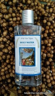 Holy water from the blessed Jordan river 250 ml,8.45 Oz bottle EXCLUSIVE PRODUCT