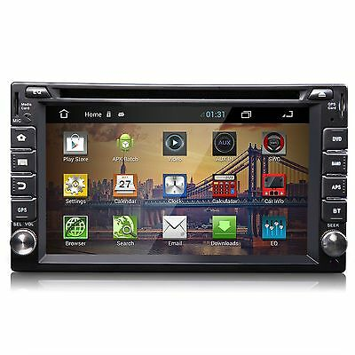 """Android 4.2 6.2""""o Double Din 3G-Wifi Car GPS DVD Player BT Indash Radio A2DP SWC"""