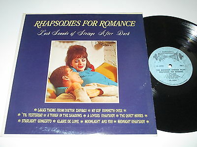 LP/RHAPSODIES FOR ROMANCE/THE MIDNIGHT STRINGS/Somerset 29000