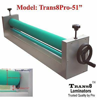 Cold Laminator 51 Laminating Machine, Manual Laminator Trans8Pro-51""