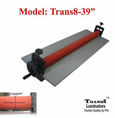 Cold Laminator 39 Laminating Machine, Manual Laminator Trans8-39""