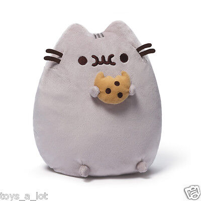 """Pusheen with Cookie 9.5"""" Plush # 4048870 Gund  IN STOCK"""