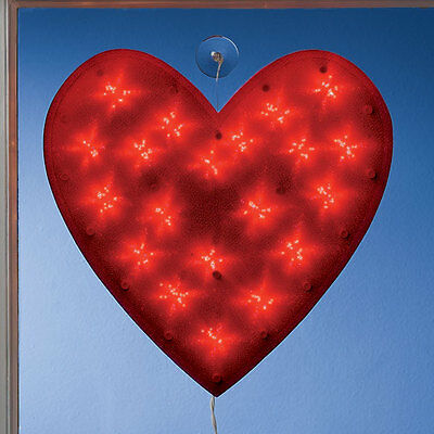 Valentine Shimmer Heart Light Decoration Holiday Indoor Protected Outdoor NEW