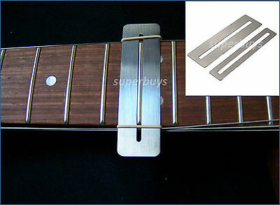 2 Fretboard Protectors Fingerboard Guard for Guitar Bass Luthier Set Tool Mask S