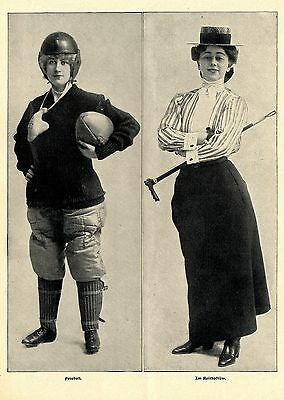 American Girls * Text- & Bilddokumente 1902