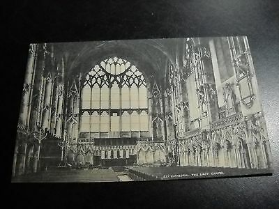 Antique Ely Cathedral, The Lady Chapel Postcard