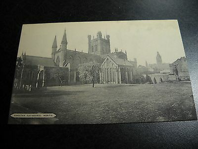 Antique Chester Cathedral North Postcard