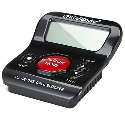 CPR Call Blocker V202 block all robocalls, political calls, scam calls