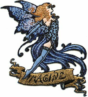 Amy Brown's Imagine Fairy Embroidered Patch, NEW UNUSED