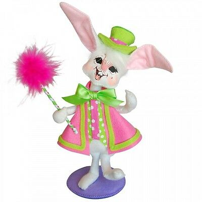 """EASTER PARADE BOY BUNNY 6"""" Poseable Figure Annalee Springtime NEW"""