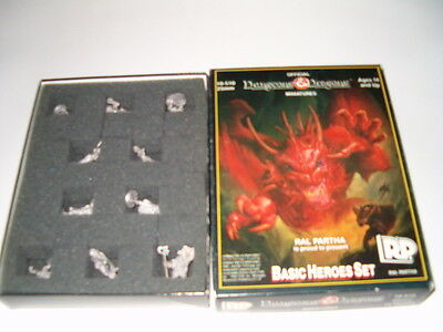 Official Dungeons & Dragons Ral partha RP Basic Heroes  miniatures 10-510