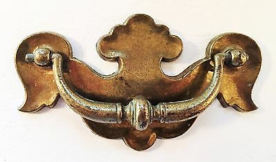"Colonial Chippendale Batwing Drawer Pull Antique Hardware 3 3/4"" & 3""center"