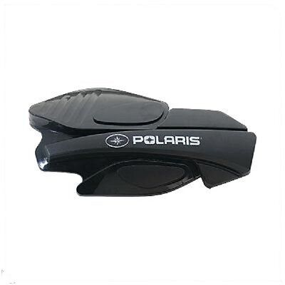 Polaris Handguards Snowmobile Wind Protection Black + Powermadd Mounts
