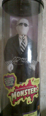 """UNIVERSAL STUDIOS MONSTERS """"""""INVISIBLE MAN"""" 12 INCH DOLL 1998"""
