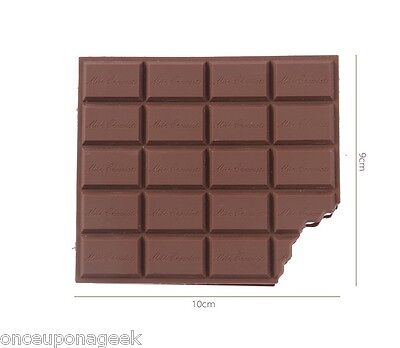 Chocolate Note Pad 100 pages Dessert Note Book Portable Memo Pad Novelty Gift