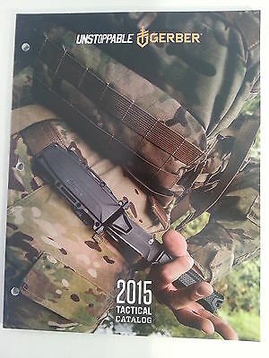 2015 Gerber Tactical Catalog Booklet / New Knife, Multi-Tool, and More 97 Pages