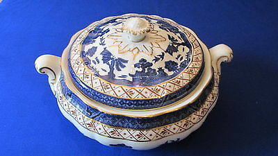 Superb Royal Doulton Booths Real Old Willow Lidded Tureen - Majestic Collection