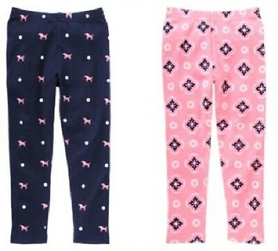 """NWT GYMBOREE """"Smart Girls Rule"""" Blue/ Navy and Pink Leggings"""