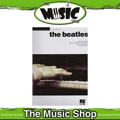 New Jazz Piano Solos 'The Beatles' Music Book - Volume 28