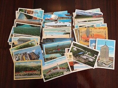 Antique Vintage Mixed Lot 70+ Postcards From Southern United States SUSA