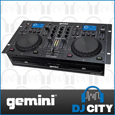 Gemini USB / CD Media Console - Flexible hands on mixing and scratch control ...