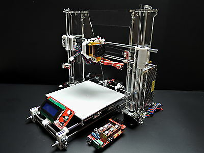 [SINTRON] 3D Printer full complete Kit for Reprap Prusa i3 ,MK3,LCD,MK8 extruder