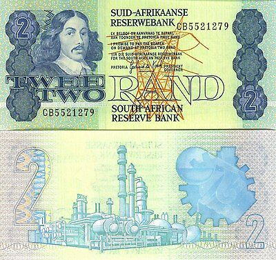 South Africa ND (1983-90) 2 Rand UNC (P-118d)