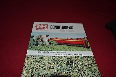 New Holland 402 404 Conditioners Dealer's Brochure DCPA