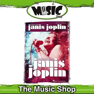 New 'A Night with Janis Joplin' Piano & Vocal Selections Music Book