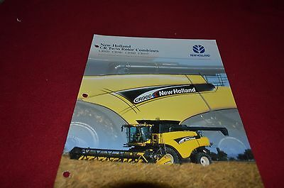 new holland cr970 cr960 cr940 cr920 combine dealer s brochure yabe rh picclick com