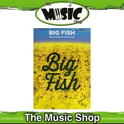 New 'Big Fish' Movie Soundtrack Piano & Vocal Selections Music Book