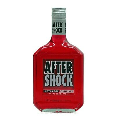 After Shock Red Hot & Cool Cinnamon 0,7 Liter