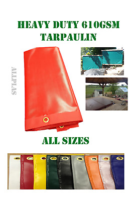 Heavy duty tarpaulin waterproof camping  ground sheet cover GREAT VALUE