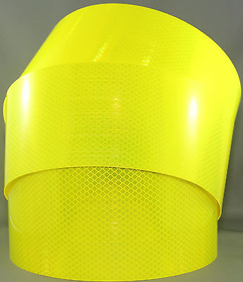 3M Fluoro Yellow Green (4083) Diamond Grade Class 1 Reflective Tape 100mm x 15m