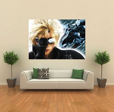 Unicorn Fantasy Anime Wall Art Poster Print A3//A4 Sections or Giant 1 Piece