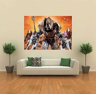 Halo Wars Xbox Game New Giant Large Art Print Poster Picture Wall G074