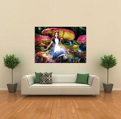 Alice In Wonderland New Giant Large Art Print Poster Picture Wall G092