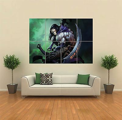 Darksiders Xbox 360 Playstation New Giant Art Print Poster Picture Wall G1111