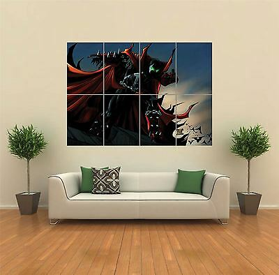 Spawn Comic Super Hero New Giant Large Art Print Poster Picture Wall G1141
