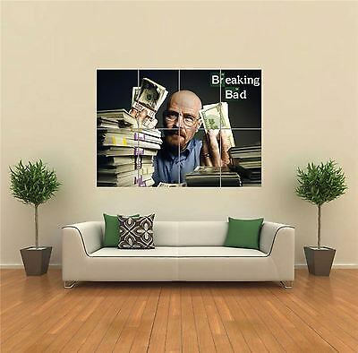Breaking Bad Walter White Money New Giant Art Print Poster Picture Wall G1422