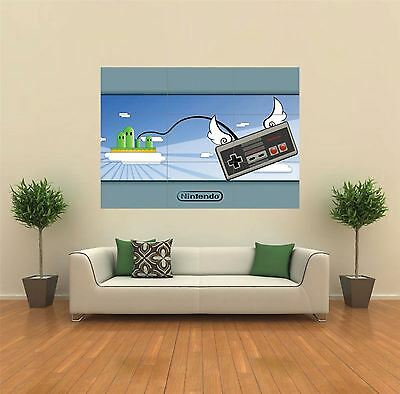 Nintendo Controller New Giant Large Art Print Poster Picture Wall G165