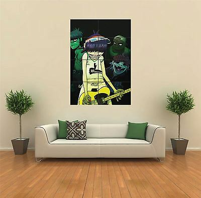 Gorillaz Music Band New Giant Large Art Print Poster Picture Wall G446