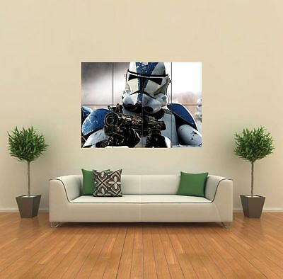 Jedi Clones Star Wars New Giant Large Art Print Poster Picture Wall G451