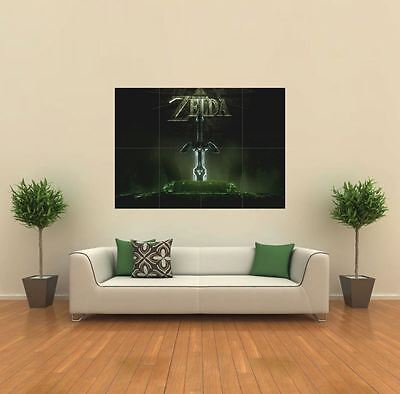 Video Zelda Nintendo New Giant Large Art Print Poster Picture Wall G486