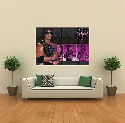 Bret Hitman Hart New Giant Large Art Print Poster Picture Wall G523