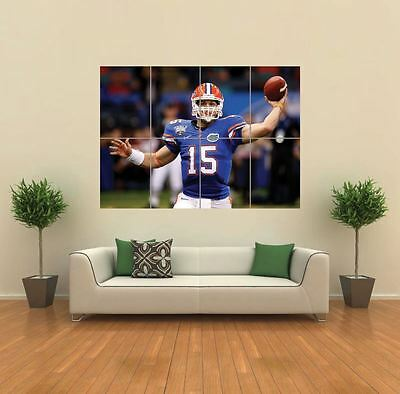 Tim Tebow Nfl Football New Giant Large Art Print Poster Picture Wall G900